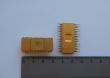 Микросхема  24 ноги полностью жёлтая