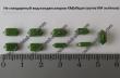 Нестандартный размер(форма) КМ зелёных