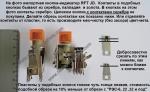 Кнопка-индикатор RFT  JD